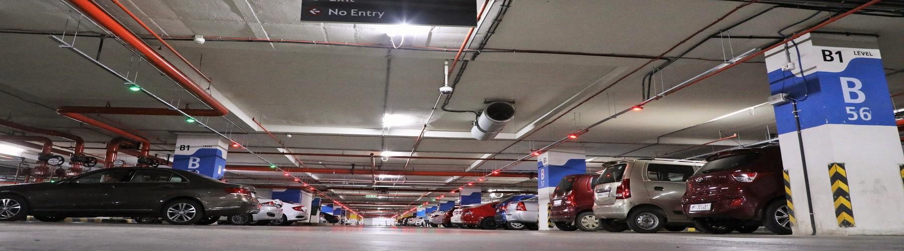 Car Parking Design, Traffic Management, Parking logo Banner