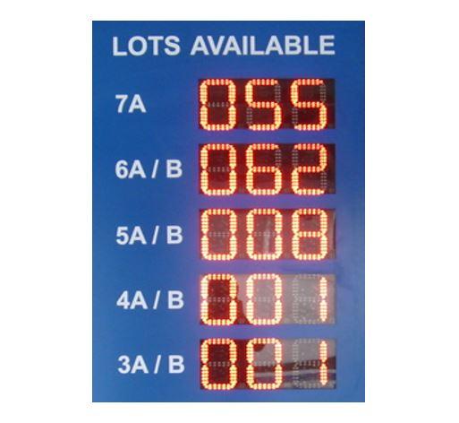 Secure Parking Soutions, Car Parking Professionals, parking management system,Digitaal Level Display