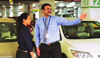 Secure Parking Soutions, Customer Service,airport car parking in India,car park services,car park industry,